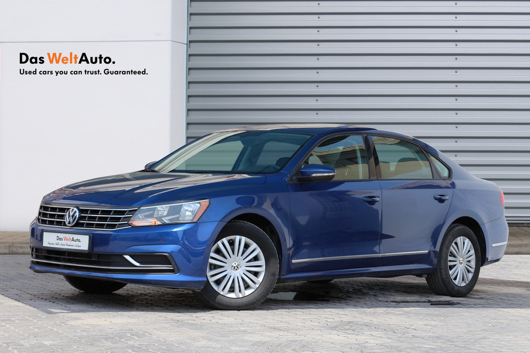 Volkswagen PASSAT NEW PASSAT 2.5L S - CERTIFIED PRE-OWNED -WARRANTY UNTIL 2022 - VERY LOW MILEAGE - 2016