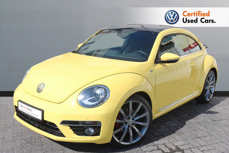 Volkswagen BEETLE 2.0L R LINE  - CERTIFIED PRE-OWNED -WARRANTY UNTIL 2021 - WITH EXTENDED WARRANTY - 2016