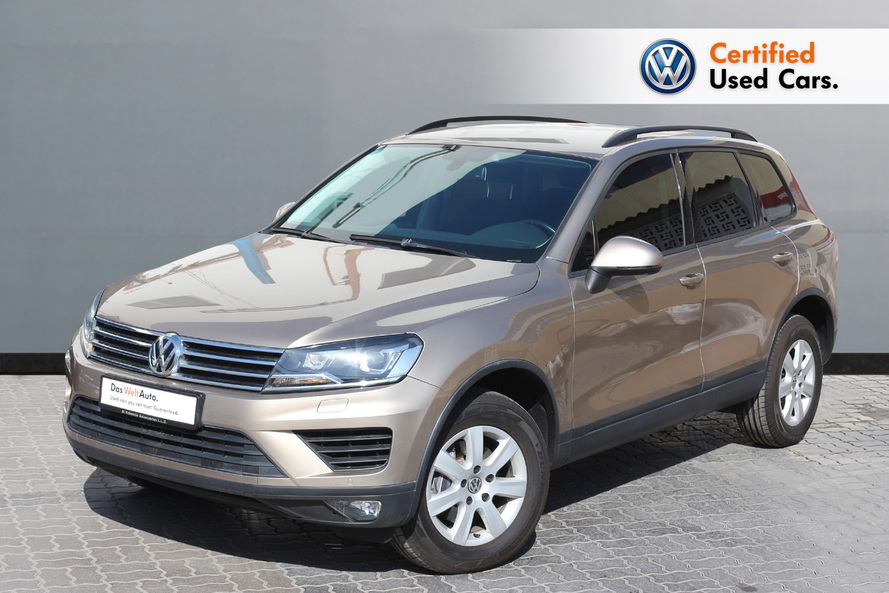Volkswagen TOUAREG 3.6L FACELIFT S - CERTIFIED PRE-OWNED -WARRANTY UNTIL 2022 - 2016