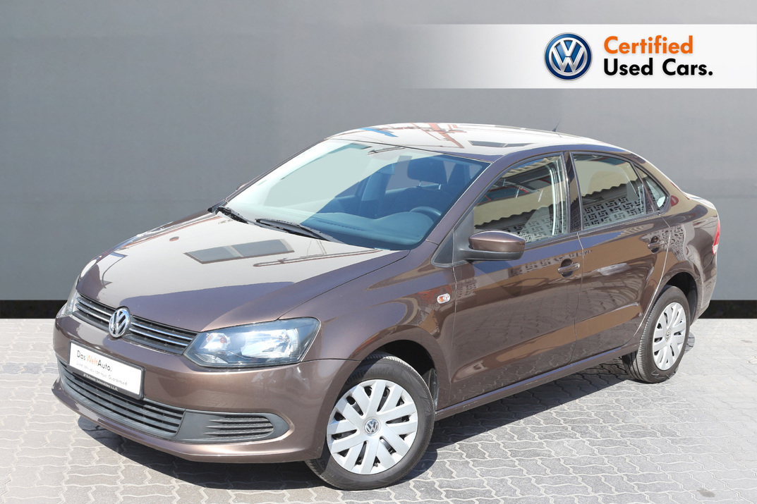 Volkswagen POLO 1.6L S - CERTIFIED PRE-OWNED -WARRANTY UNTIL 2020 - 2015