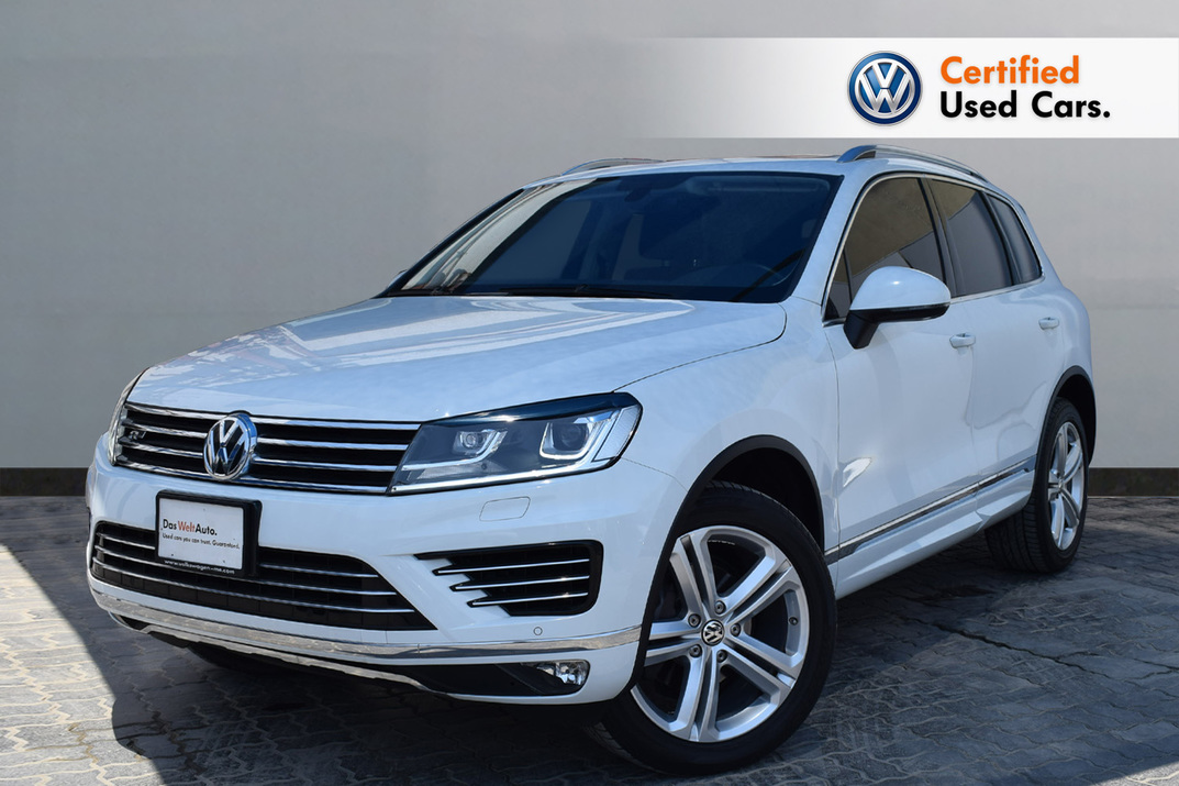 Volkswagen TOUAREG 3.6 R LINE FACELIFT- CERTIFIED PRE-OWNED -WARRANTY UNTIL 2022 - 2016