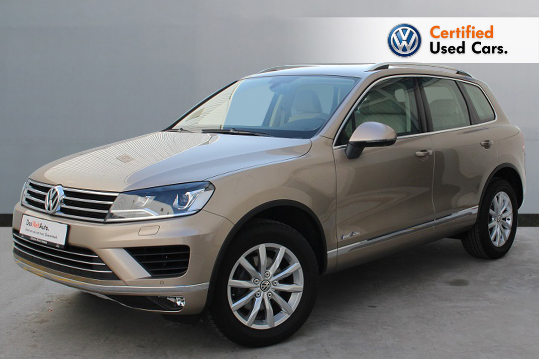 Volkswagen Touareg 2017 - Major service done - 2017