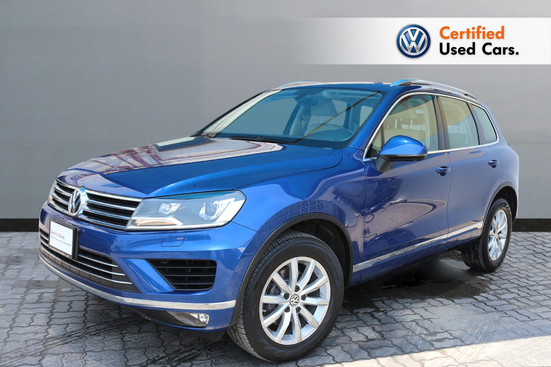 Volkswagen TOUAREG 3.6L SE WITH NAVIGATION - CERTIFIED PRE-OWNED -WARRANTY UNTIL 2023- - 2017