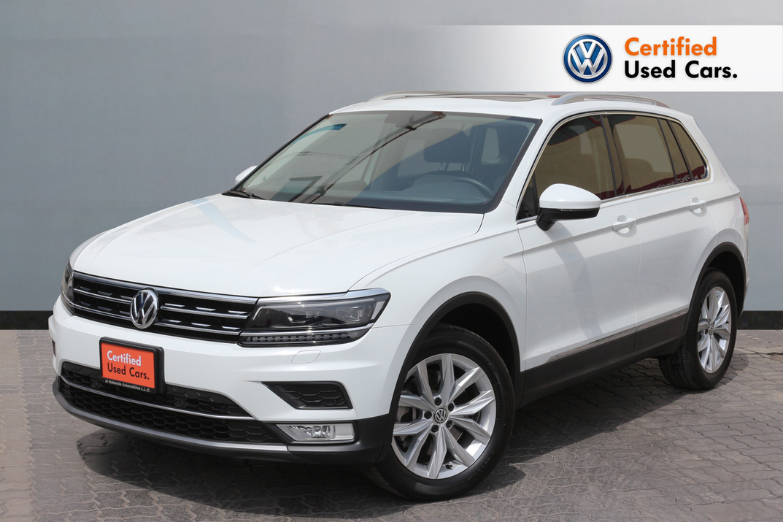 Volkswagen TIGUAN THE NEW TIGUAN 2.0L SEL - CERTIFIED PRE-OWNED - WARRANTY UNTIL 2021- RAMADAN OFFER - 2017