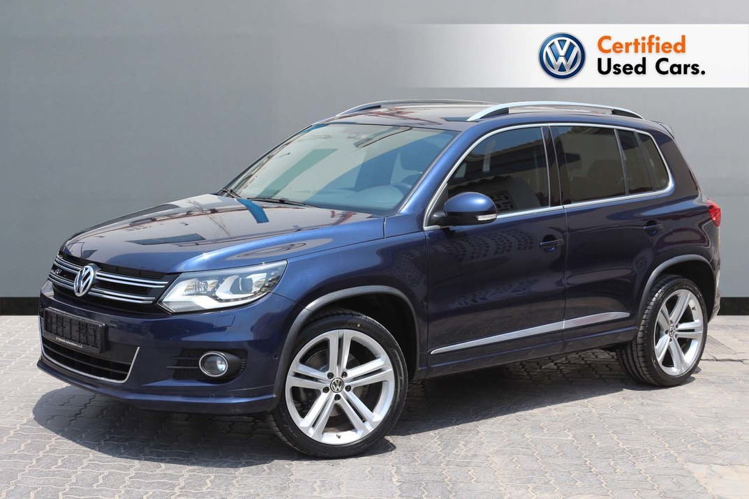 Volkswagen TIGUAN SPORT & STYLE 2.0L R LINE - CERTIFIED PRE-OWNED - WARRANTY UNTIL 2021 - 2016