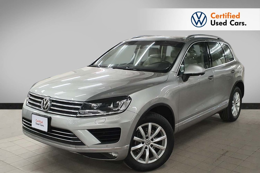 Volkswagen Touareg V6 - 6 speeds - 2018