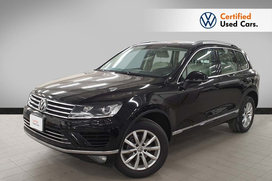 Volkswagen Touareg V6 - 8 speeds - SE - 2018