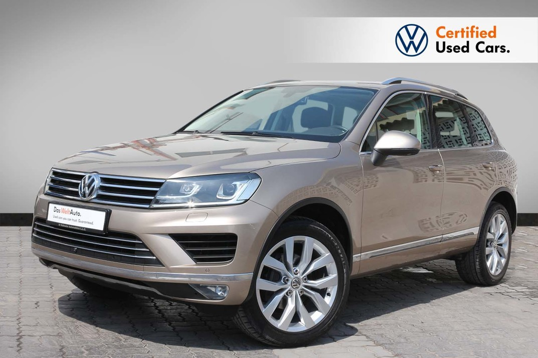 Volkswagen TOUAREG SPORT FACELIFT 3.6L - CERTIFIED PRE-OWNED - WARRANTY UNTIL 2020 - 2016