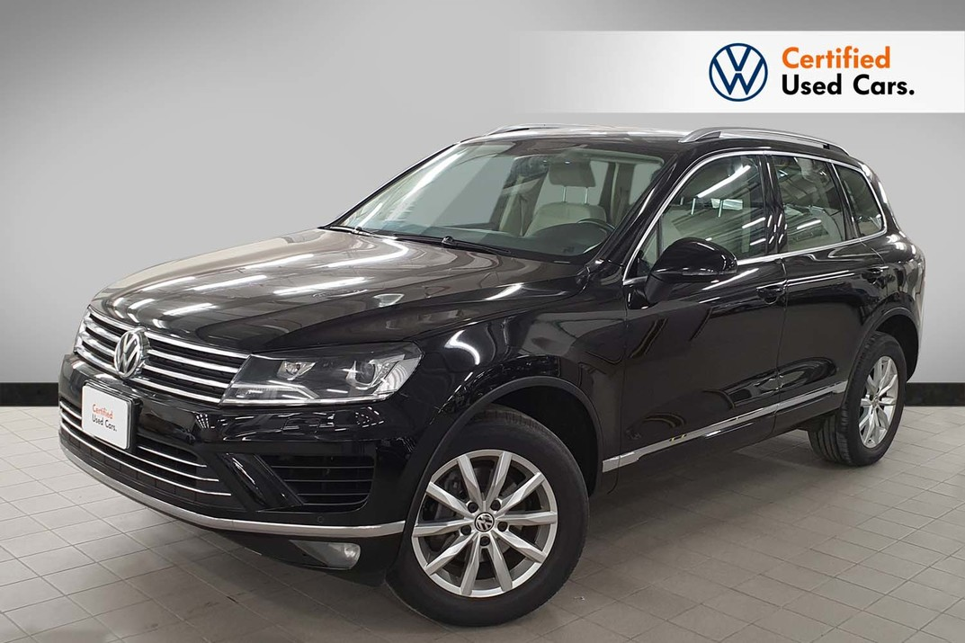 Volkswagen Touareg V6 FSI BlueMotion Technology 3.6 l V6 TFSI 206 kW (280 PS) 8-speed automatic (tiptronic) - 2018