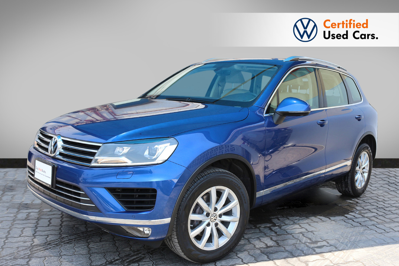 Volkswagen TOUAREG 3.6L SE WITH NAVIGATION - CERTIFIED PRE-OWNED -WARRANTY UNTIL 2023- - 2018