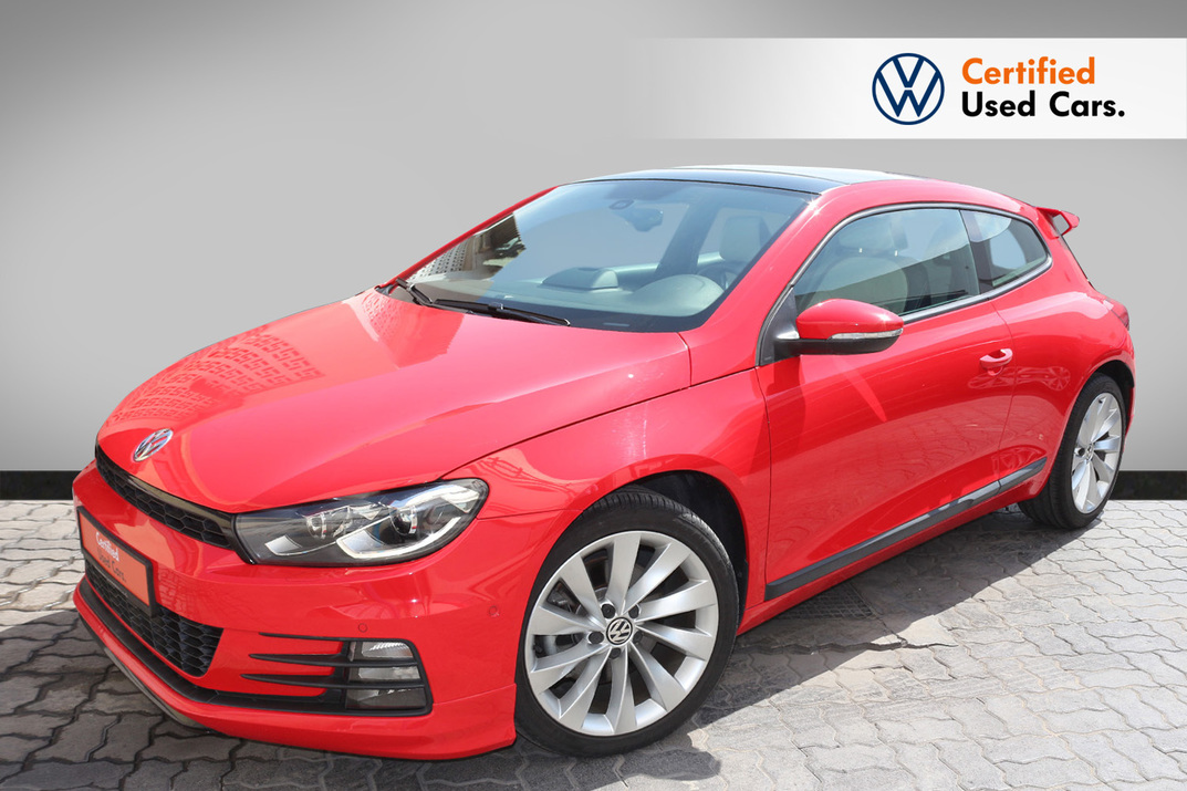 Volkswagen SCIROCCO SPORT FACELIFT - CERTIFIED PRE-OWNED -WARRANTY UNTIL 2023 - 2016