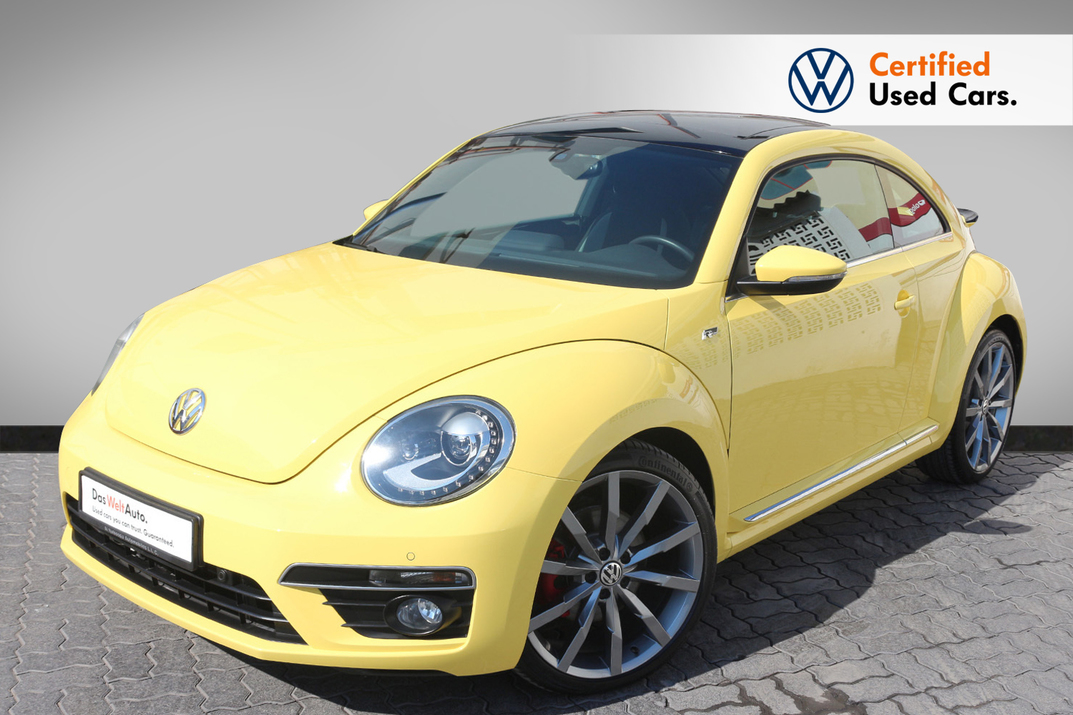 Volkswagen BEETLE 2.0L R LINE  - CERTIFIED PRE-OWNED -WARRANTY UNTIL 2021 - WITH EXTENDED WARRANTY - 2015