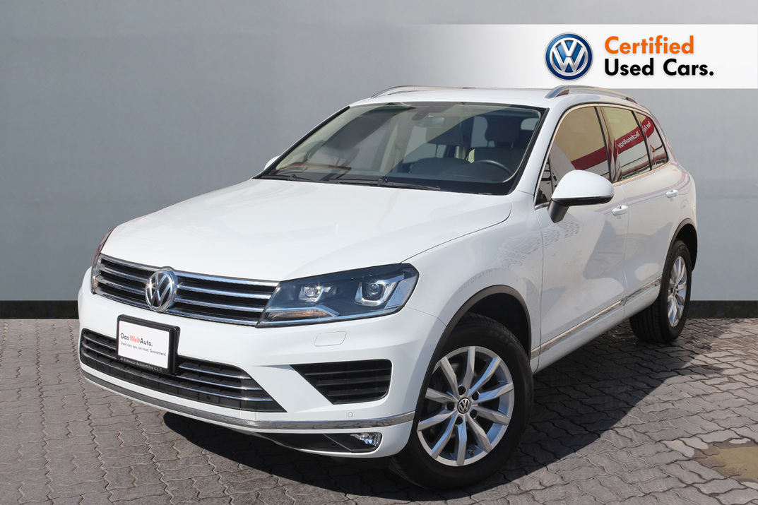 Volkswagen TOUAREG FACELIFT SE + NAV 3.6L - CERTIFIED PRE-OWNED -WARRANTY UNTIL 2022 - 2017