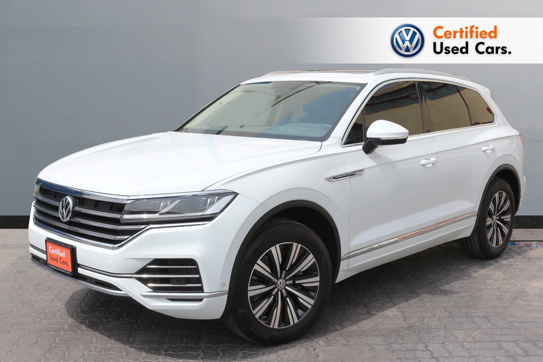 Volkswagen NEW TOUAREG COMFORTLINE 3.0L - CERTIFIED PRE-OWNED - WARRANTY UNTIL 2022 - 2018