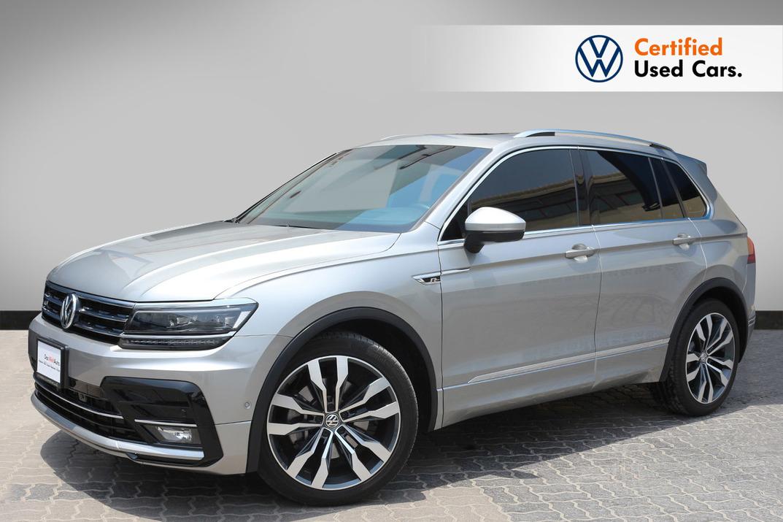 Volkswagen The New Tiguan R Line 2.0L - Certified Pre-Owned - Warranty Until 2023 - 2018