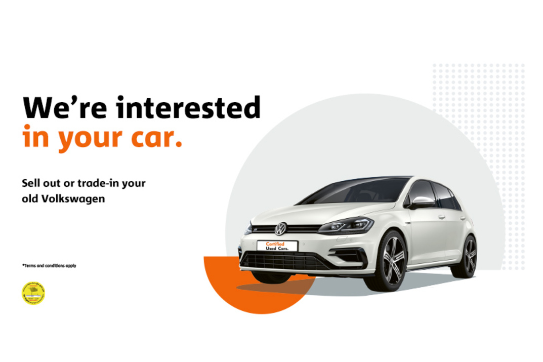 We are interested in your car.