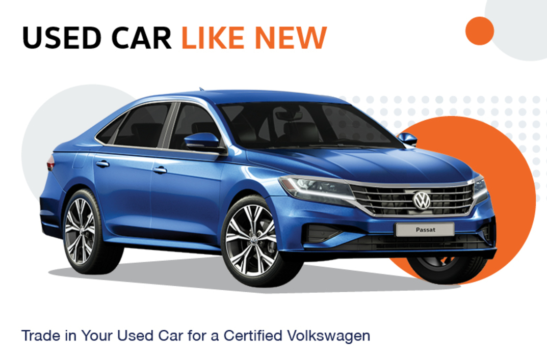 Trade in any used car