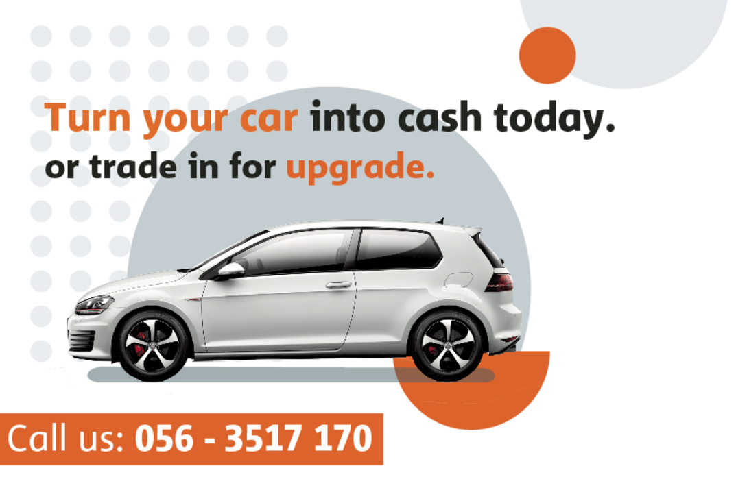 Turn your car into cash today.